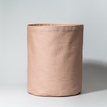 nude cotton basket