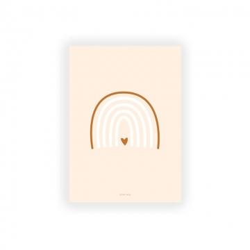carte postale arc en ciel