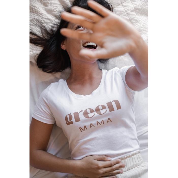 Tee shirt Green Mama
