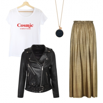 tee-shirt cosmic