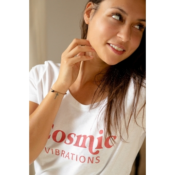 Tee shirt rouge cosmic