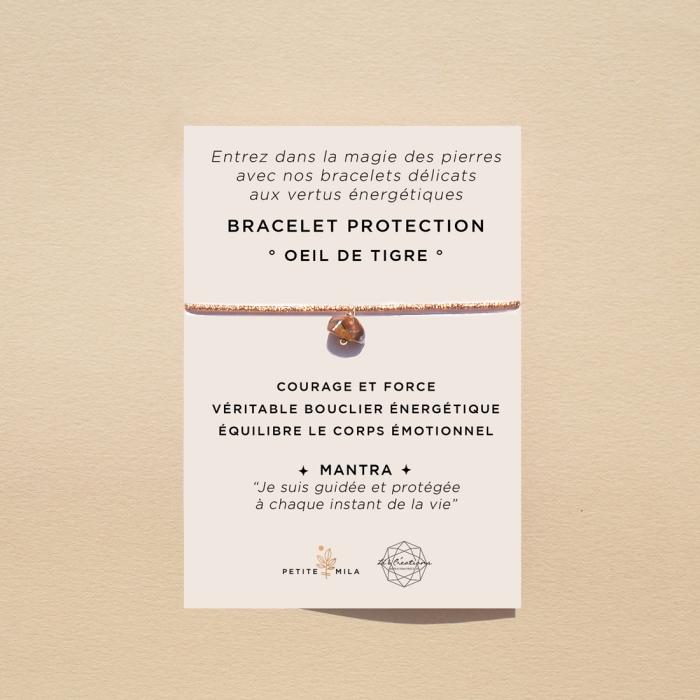 bracelet protection oeil de tigre