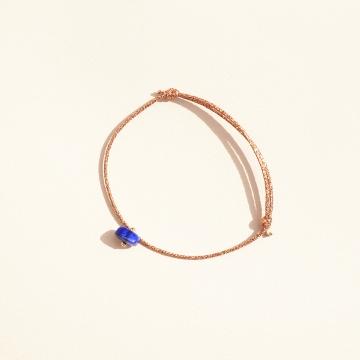 Bracelet réglable lapis lazuli