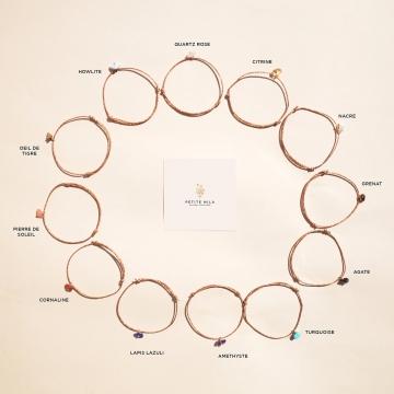 bracelet pierre de naissance chakra